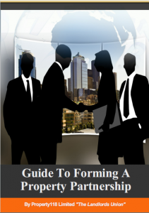 Guide To Forming A Property Partnership