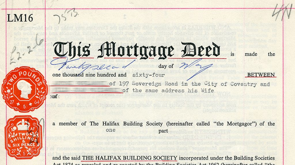 Lost deeds from 1956?
