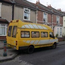Growing Trend of people living in Vans in Bristol