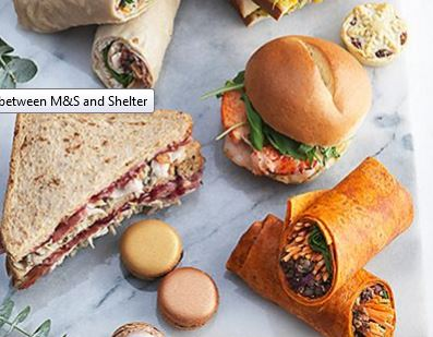 M&S Food for Shelter