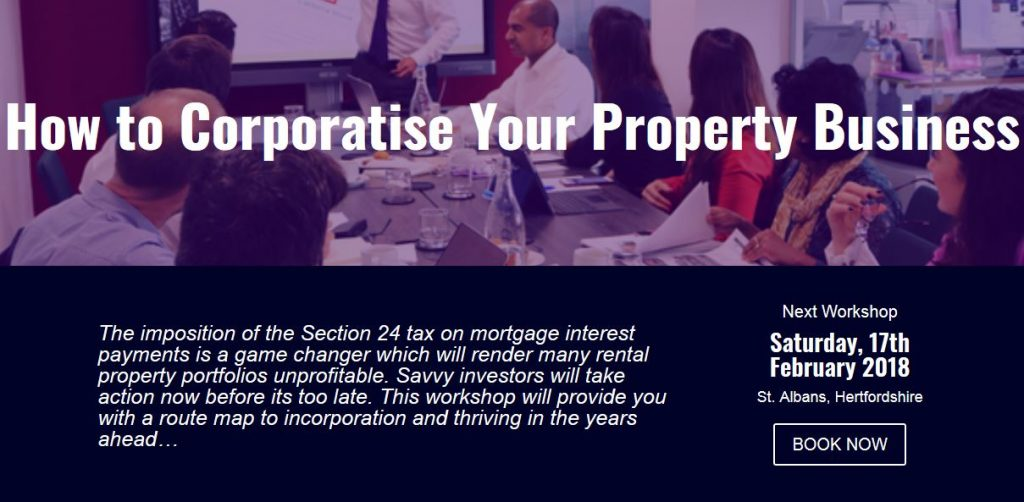 How To Corporatise Your  Property Business