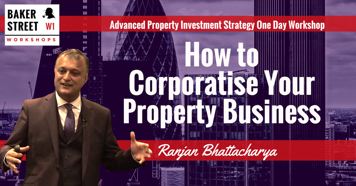 How To Corporatise  Your Property Business – One Day Workshop