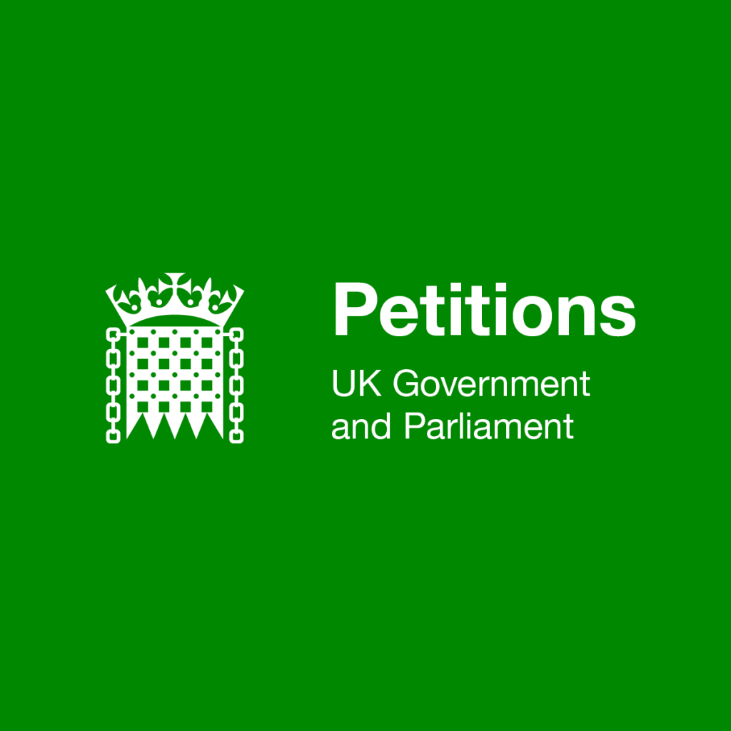 10,000 signatures – Government to respond