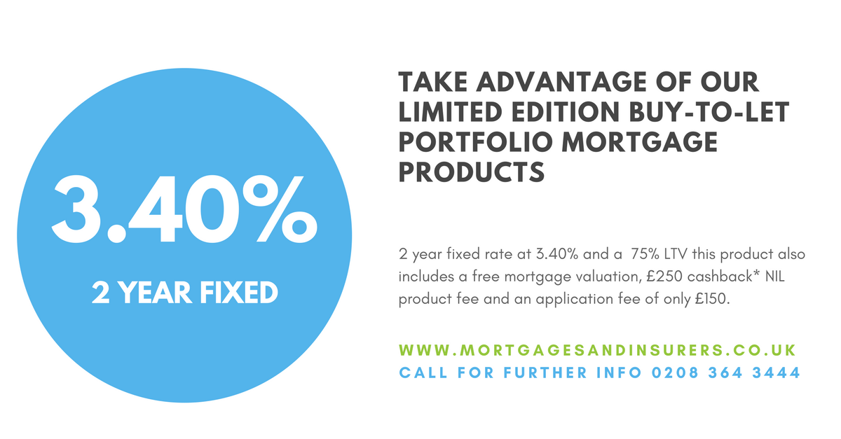 Limited Edition BTL Portfolio Products with Free Valuation & Cashback