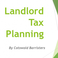 Online Presentation Simplifies Tax Planning Options for Landlords