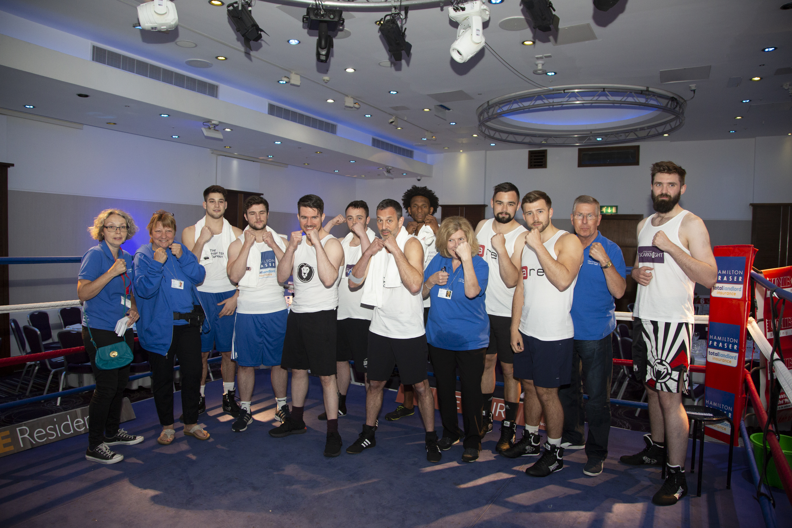 'Rumble with the Agents' raises over £16,000 for Cherry Lodge Cancer Care