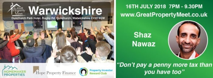 Don't pay a penny more tax than you have too! with Shaz Nawaz