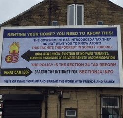 Section 24 Billboard Campaign arrives in the North