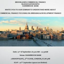 Bridging and Development Finance Seminar