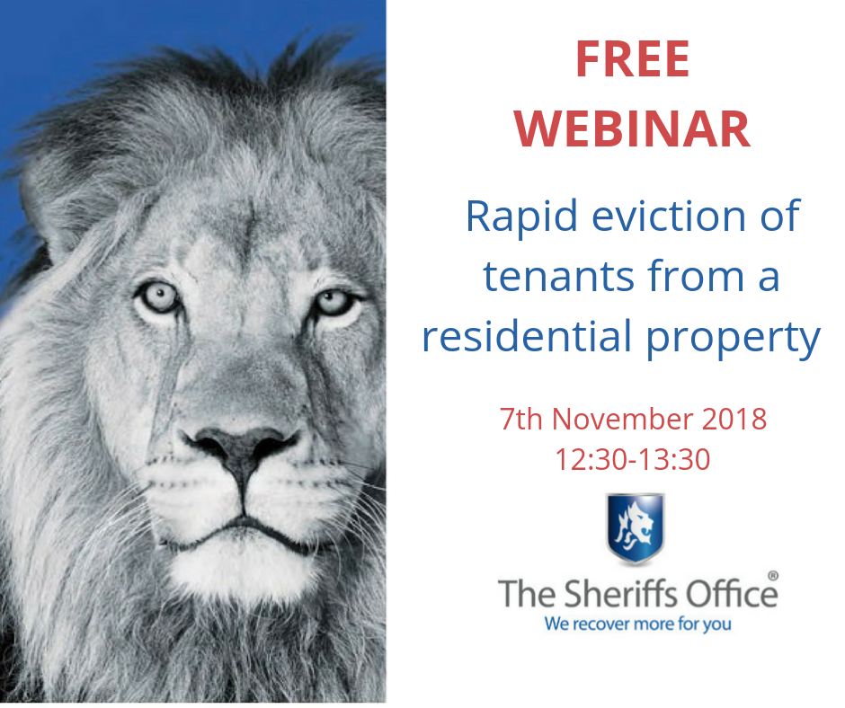 Webinar – Rapid eviction of tenants