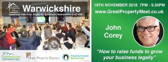 How to Raise Funds to grow your property business legally