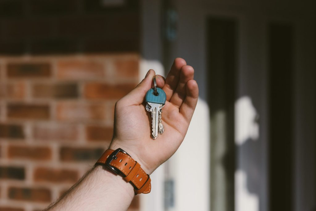 Can I go into the property, repossess and changed the locks?