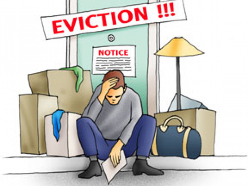 BEST PRACTICE – letter template to go with eviction notices