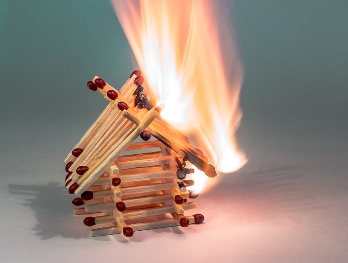 Cautionary tale to include fire cover clause in AST!