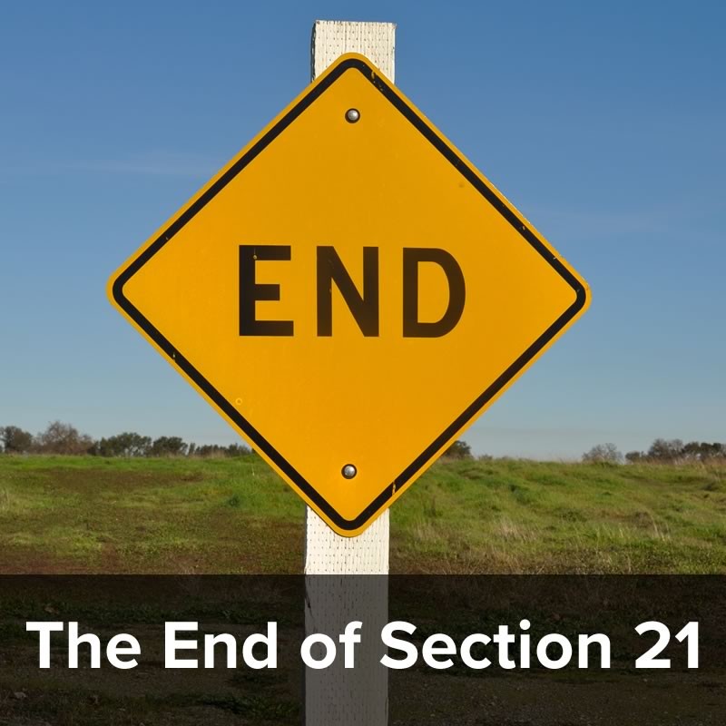 The End of Section 21 – YOUR questions answered in this lunchtime webinar