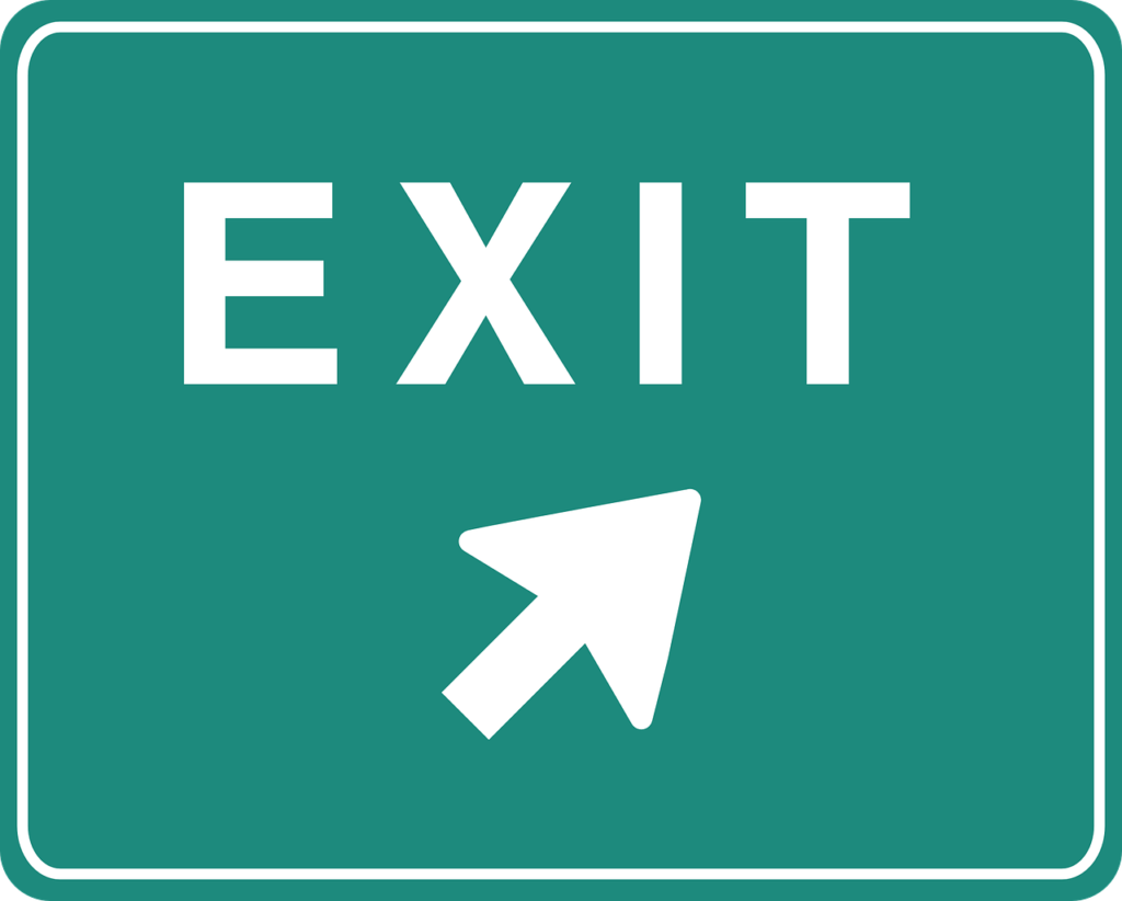 Make for the Exit