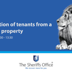 Rapid eviction of tenants from a residential property