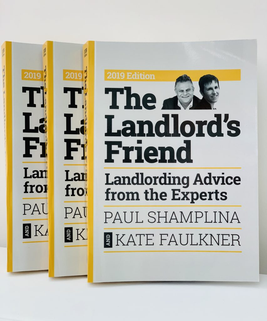 Paul Shamplina and Kate Faulkner release latest edition 'The Landlord's Friend'