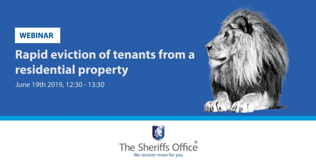 Rapid eviction from residential property – Webinar