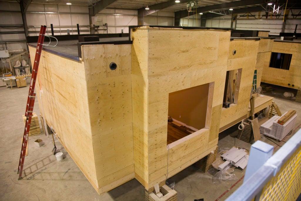 Modular construction helping to solve the UK housing crisis
