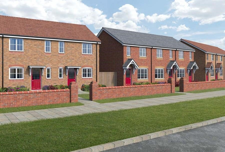 3-bed end town-houses with yields of up to 6.7%