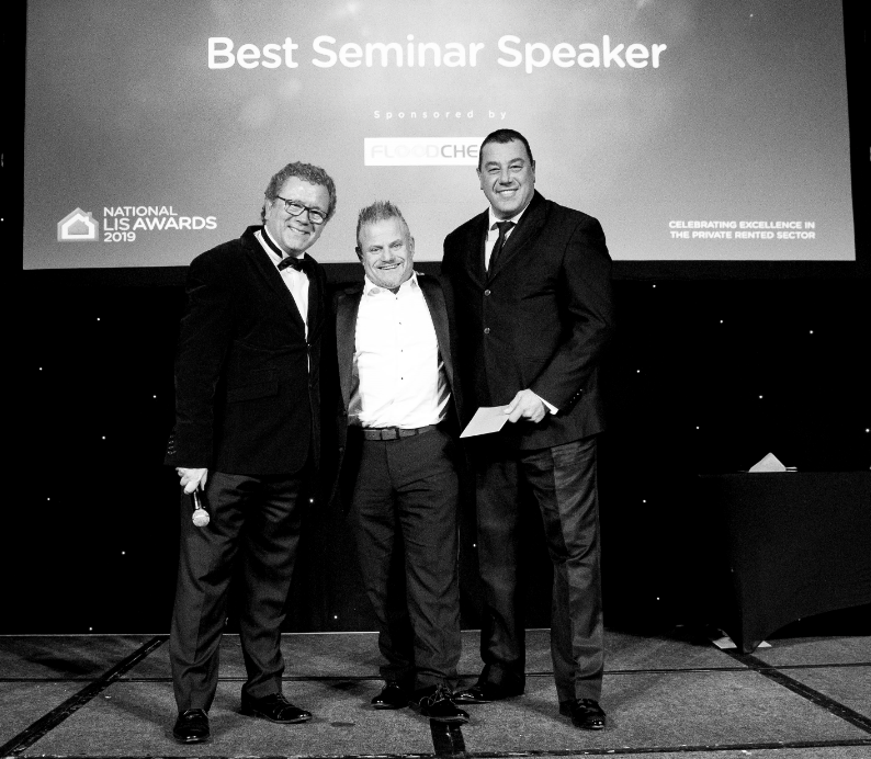 Founder of Landlord Action, Paul Shamplina, wins Best Seminar Speaker