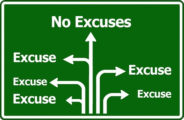 2020 – The Year of NO Excuses!