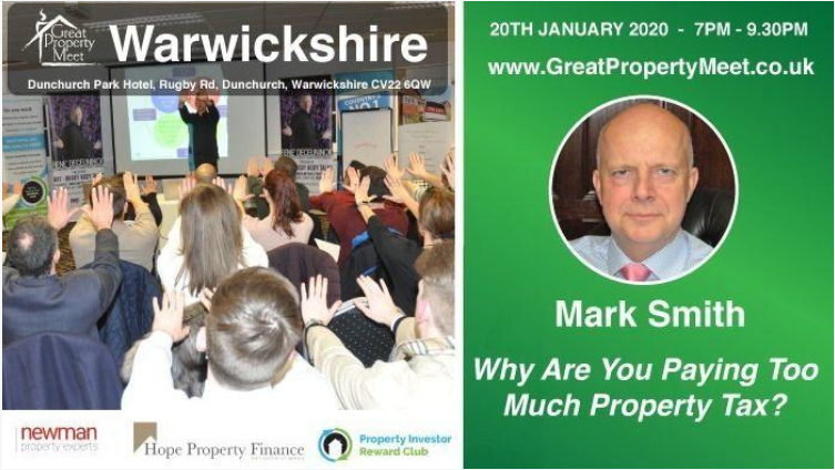 Opportunity to meet Mark Smith (Barrister-At-Law) in Warwickshire