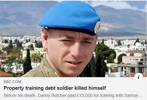 Soldier On Property Training Course Committed Suicide