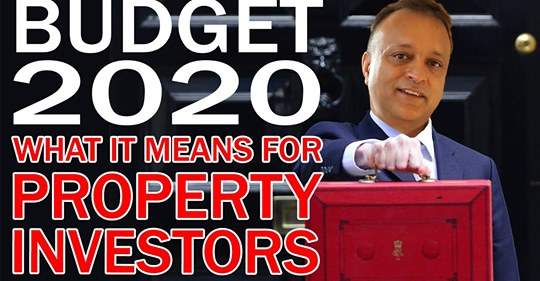 Budget 2020 – What it means For property investors and UK property market