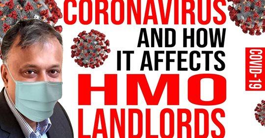 Coronavirus – How it affects HMO Landlords