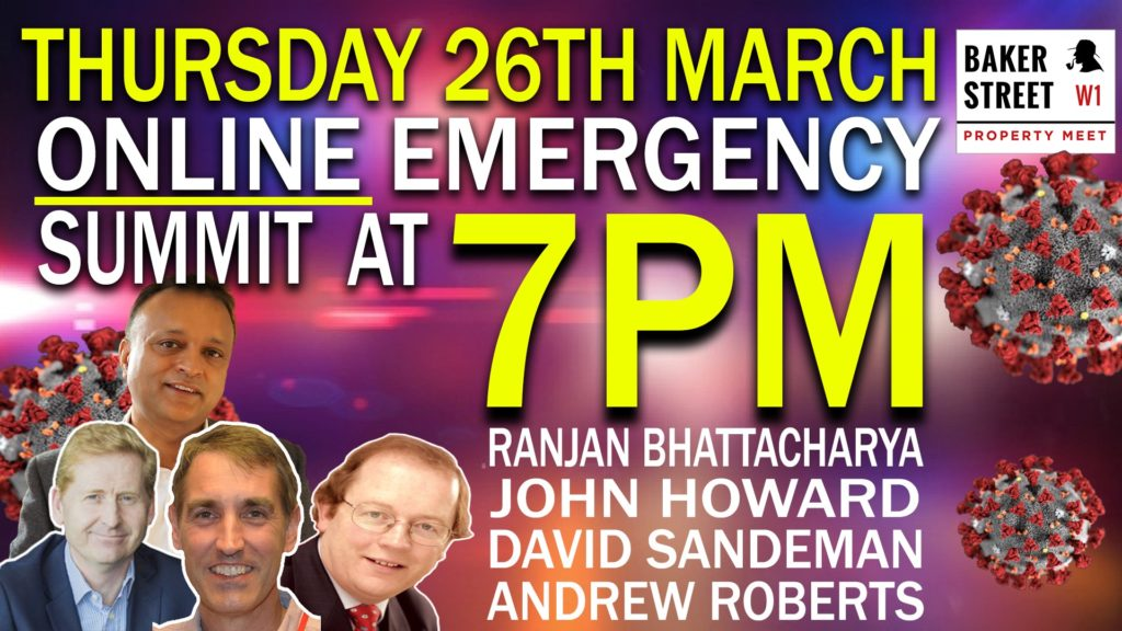 TONIGHT: Emergency COVID-19 Property Investors Summit (online)