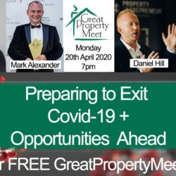 Preparing to Exit Covid-19 – Online Meeting 7PM Monday 20th April