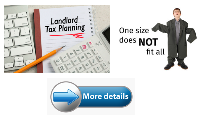 Why we don't apply a 'one-size-fits-all' approach to landlord tax planning