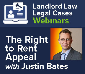 Right to Rent Appeal – Legal Cases Webinar