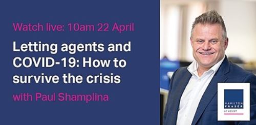 Lettings agents and COVID-19: How to survive the crisis Webinar