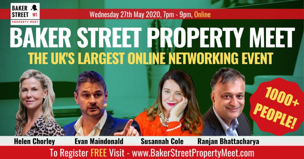 Tonight's Baker Street LiveStream: How To Finance Property Deals After Lockdown