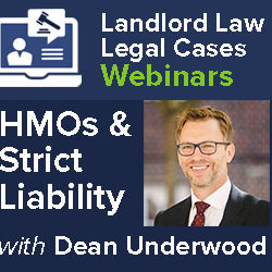 Strict liability for Unlicensed HMOs? – Legal Cases Webinar