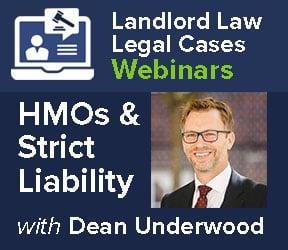 Strict liability for Unlicensed HMOs? – Legal Cases Webinar