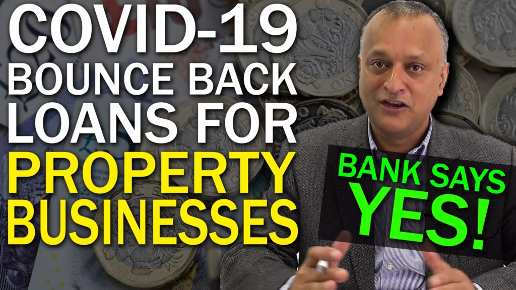 Covid-19 Bounce Back loans for property businesses