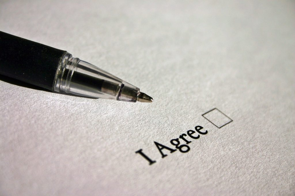 Rent guarantee agent changed contract without permission?