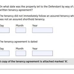 What to make of Qs 6 and 7 on new N5B Claim form?