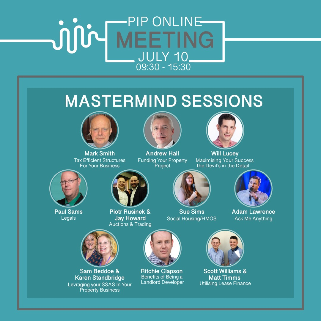 Mark Smith (Barrister-At-Law) – Partners in Property Mastermind Session- July 10th 2020
