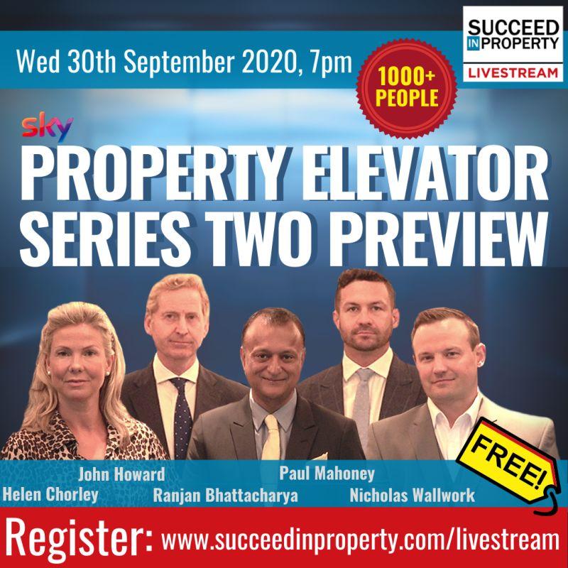 FREE Livestream 7pm – Sky's Property Elevator