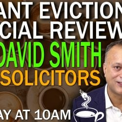 LIVE interview with David Smith on proposed legal action against Lockdown evictions