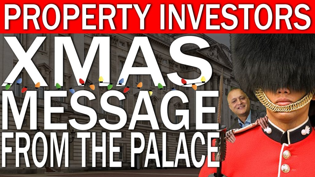 Property investors Christmas message from the Palace