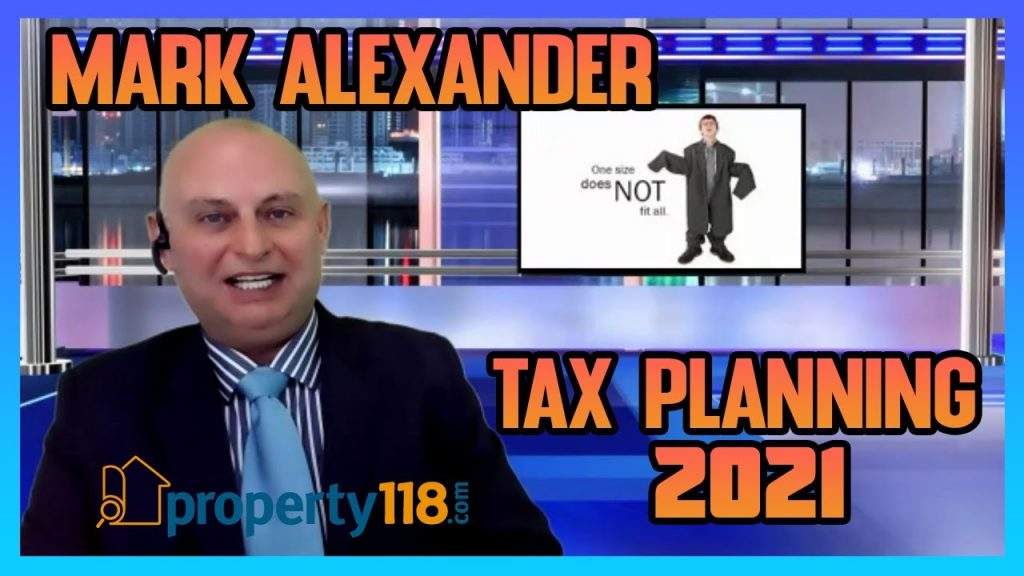 12 Days of Property – Tax Planning 2021