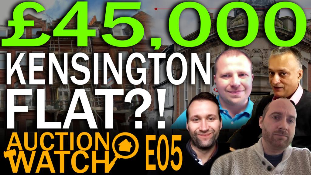 Kensington Flat For £45K At Auction?