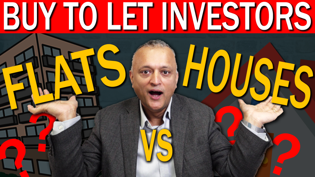 Are flats or houses best for Buy To Let investors?