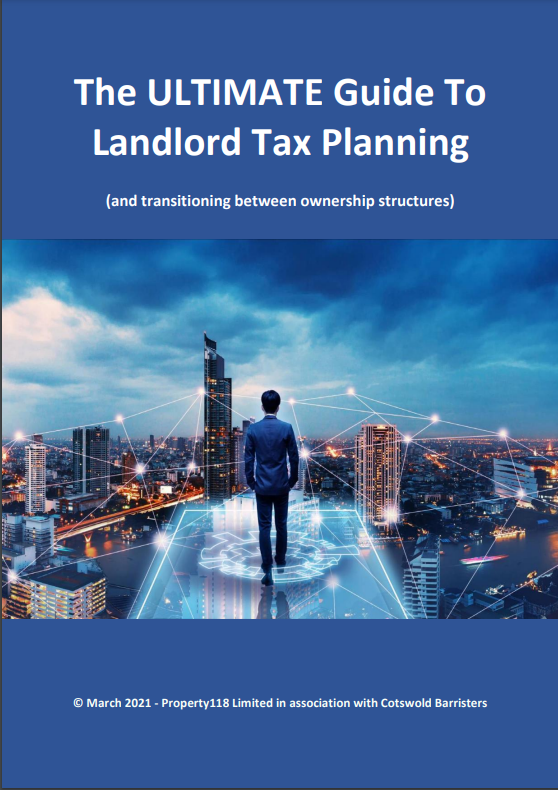 The ULTIMATE Guide To Landlord Tax Planning